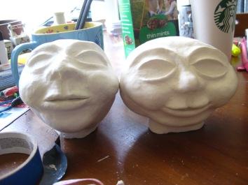 Tantalus Jr. and Pleisthenes' heads