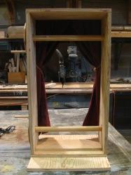 Back of scroll frame