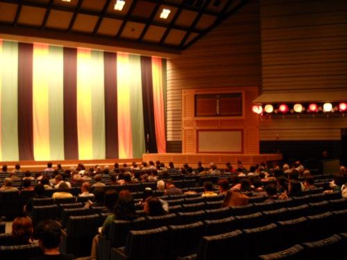 Bunraku Theater Interior