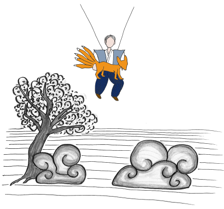Kitsune Illustration