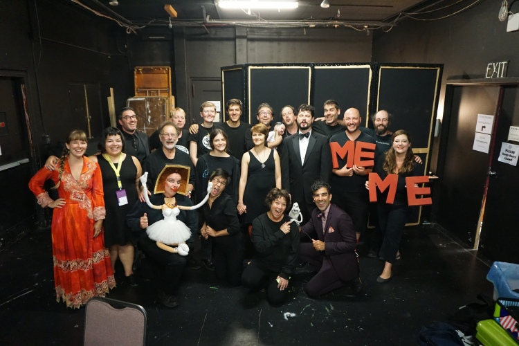 All the performers for the 2016 National Puppet Slam!