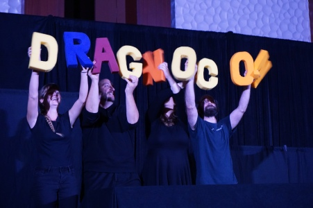 DragonCon puppet slam opening