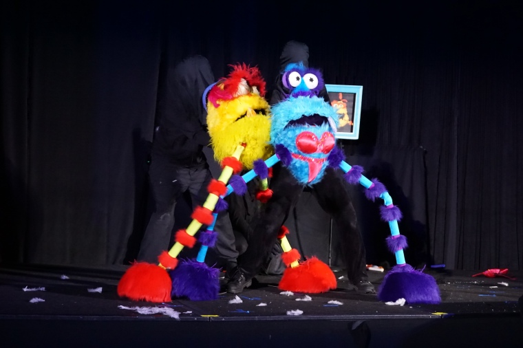 Not-for-kids puppetry ;)