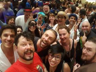 Puppeteers at DragonCon! Photo Credit: Beau Brown