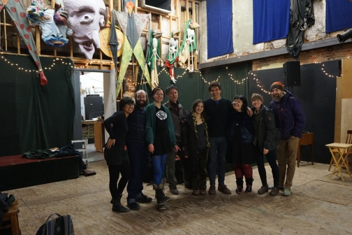The team behind the Chi-More Puppet Exchange