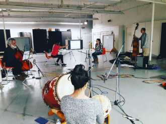 Rehearsal with Miyumi Project Reduction Ensemble
