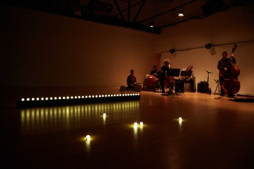 Orb-lit stage