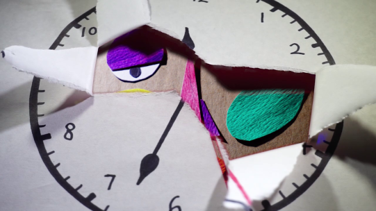 Ripping clock transition